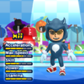 Werehog Mii Costume in the game Mario & Sonic at the London 2012 Olympic Games for the Wii.