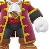 The Pirate Outfit icon.
