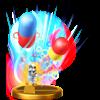 Doctor Finale's trophy render from Super Smash Bros. for Wii U
