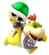 Artwork of Bowser Jr. in Mario Party: Island Tour