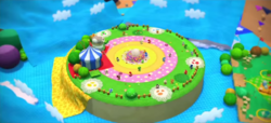 Craft Island from Yoshi's Woolly World