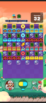 Stage 570 from Dr. Mario World