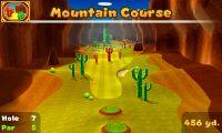Hole 7 of Mountain Course in Mario Golf: World Tour