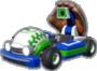 Luigi's Fastball icon in Mario Kart Live: Home Circuit