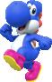Blue Yoshi from Mario Kart Tour