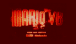 The original title screen of Mario Bros. VB, with a screenshot of the 2D gameplay below