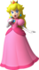 Artwork of Princess Peach from New Super Mario Bros. Wii (also used in Mario Party: Island Tour and Mario Kart Tour)