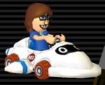 Super Blooper from Mario Kart Wii