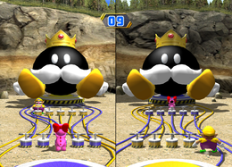 You're the Bob-omb from Mario Party 8
