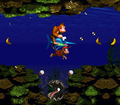 Coral Capers DKC Clambo.png