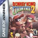 The Game Boy Advance cover art for Donkey Kong Country 2.