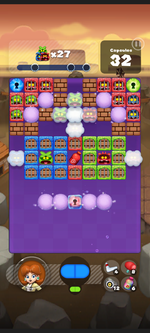 Stage 237 from Dr. Mario World