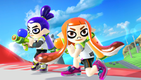 The Inkling Outfit from Super Smash Bros. for Wii U.