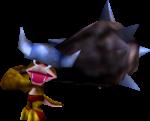 A Kosha from Donkey Kong 64.