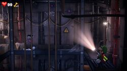 Elevator Shaft (RIP Suites) from Luigi's Mansion 3