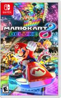 North American box art of Mario Kart 8 Deluxe.