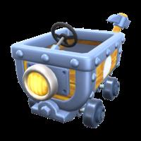 Clackety Kart from Mario Kart Tour.