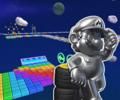 SNES Rainbow Road R from Mario Kart Tour