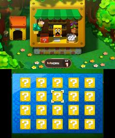 Screenshot of a Scratch/Bonus Card in Mario & Luigi: Bowser's Inside Story and Mario & Luigi: Bowser's Inside Story + Bowser Jr.'s Journey.