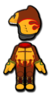 Donkey Kong Mii racing suit from Mario Kart 8