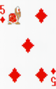 The Five of Diamonds card from the NAP-01 deck.