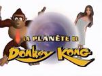 Title logo of La planète de Donkey Kong.