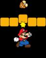 SMBDX - Mario punching block.png