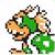 Bowser icon in Super Mario Maker 2 (Super Mario Bros. 3 style)