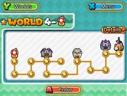 ★World 4 Map