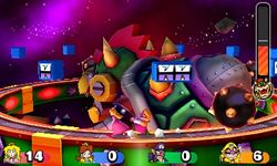 Bowser's Shocking Slipup from Mario Party: Star Rush