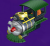 The Choo-Choo Body from Mario Party 5s Super Duel Mode.