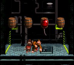 A Bonus Room in the level Blackout Basement.