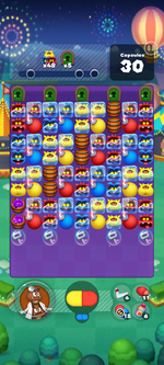 Stage 653 from Dr. Mario World