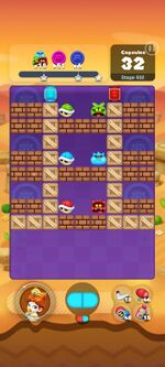 Stage 932 from Dr. Mario World