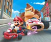 The Pauline Cup Challenge from the New Year's Tour of Mario Kart Tour