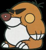 Official Artwork of a Mega Mole