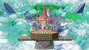 Peach's Castle (Super Smash Bros. stage) in Super Smash Bros. Ultimate.