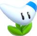Artwork of a Boomerang Flower from Super Mario 3D World.