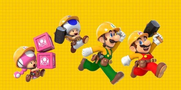 Banner for a Super Mario Maker 2 Play Nintendo opinion poll. Original filename: <tt>2x1_1200x600_SMM2-poll-01_v02.0290fa98.jpg</tt>