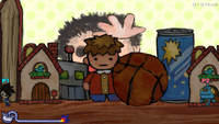 The Hide-and-Seek microgame from WarioWare: Get It Together!