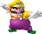 Wario artwork from Mario Party DS