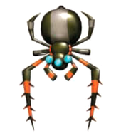 A Dan Spider from Donkey Kong Jungle Beat.