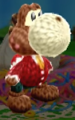 Digby amiibo design from Poochy & Yoshi's Woolly World