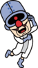 Artwork of Dr. Crygor for WarioWare Gold