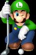 Luigi artwork from Mario Golf: World Tour.