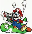 Mario and Yoshi YS Game Over art.jpg