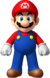 Artwork of Mario from New Super Mario Bros. Wii