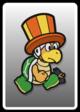 A Juggler Bro card from Paper Mario: Color Splash