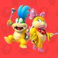 Profile of the Koopalings (Larry Koopa and Wendy O. Koopa shown) from Play Nintendo.