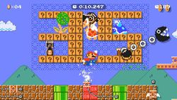 Super Mario Maker 2 Ninji Speedruns 35th Anniversary Auto-Mario